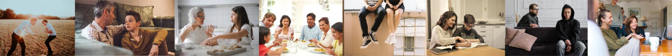 Parents & Kids Image Collage